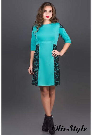 Платье Оника (бирюза) Оптовая цена