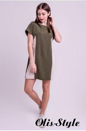 Платье Эвелина (хаки) Оптовая цена