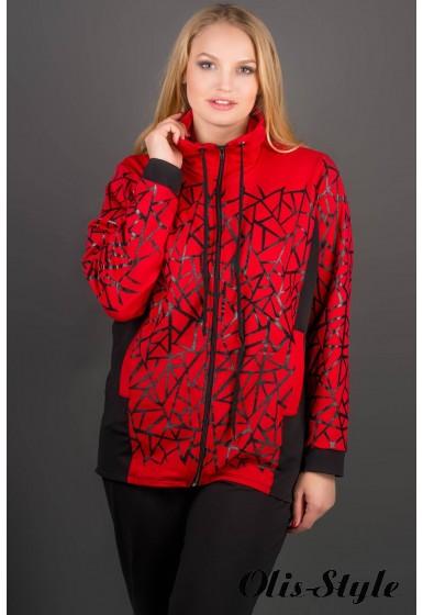 Спортивный костюм Айден (красный)   оптовая цена