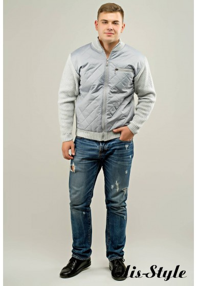 Мужской свитер Артем (светло-серый) оптовая цена