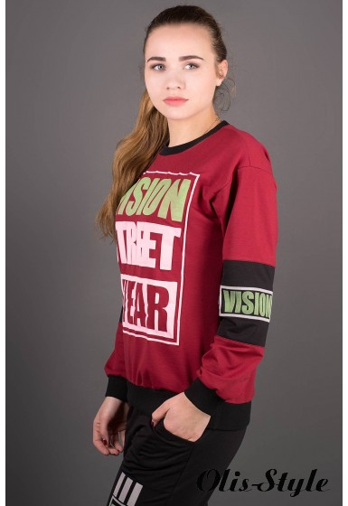Спортивный костюм Девита (бордовый) Оптовая цена