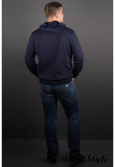 Мужская толстовка Эдмон (синий) оптовая цена