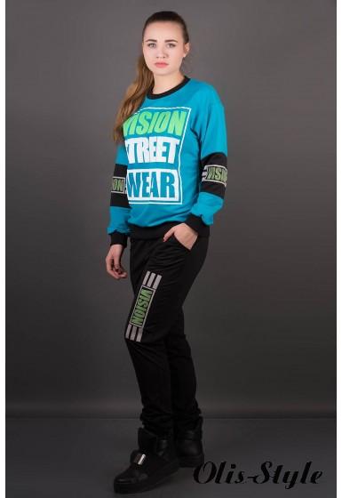 Спортивный костюм Девита (бирюза) Оптовая цена