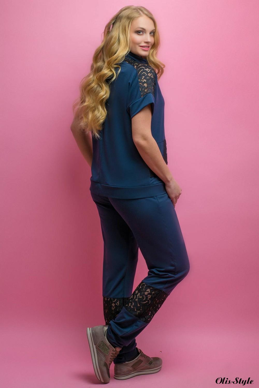 Спортивный костюм Калипса (синий) оптовая цена