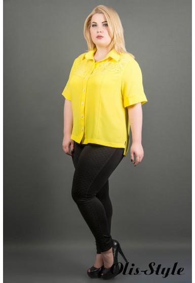 Рубашка Ника (желтый) оптовая цена