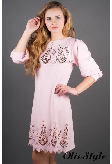 Платье Айсель (розовый) Оптовая цена