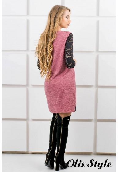 Платье Монита (розовый) Оптовая цена