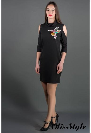 Платье Самира (черный) Оптовая цена