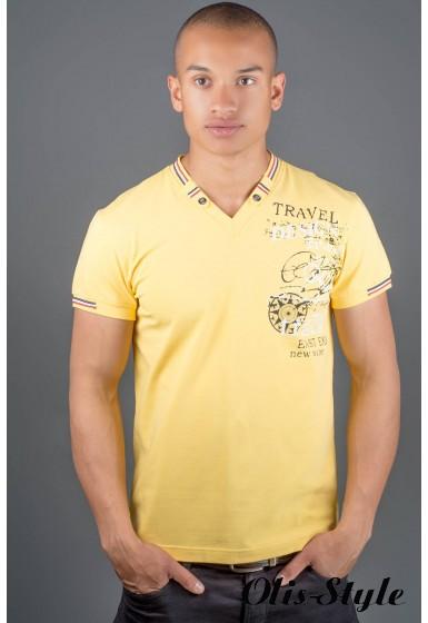 Мужская футболка Грэт (желтый) оптовая цена