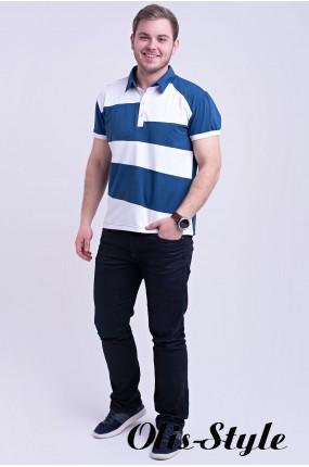 Мужская футболка Зидан (синий) оптовая цена