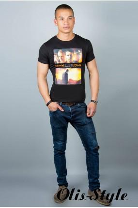 Мужская футболка (черная №29)   оптовая цена