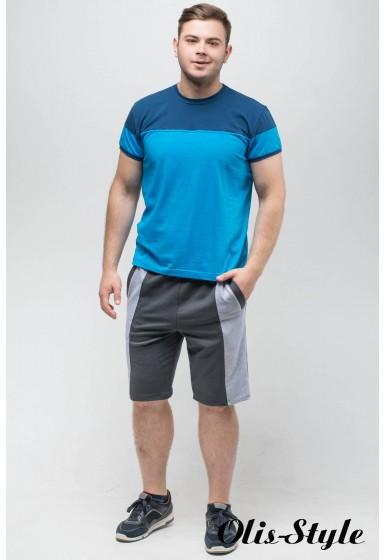 Мужская футболка Фердинант (бирюза)