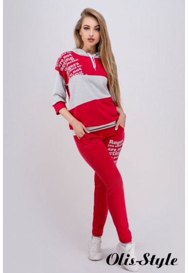 Спортивный костюм Вилари (красный) Оптовая цена