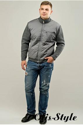 Мужской свитер Артем (серый) оптовая цена