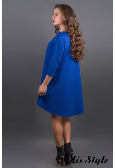 Платье Гретти (электрик) Оптовая цена