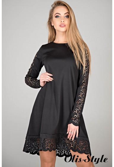 Платье Эрин (черный) Оптовая цена