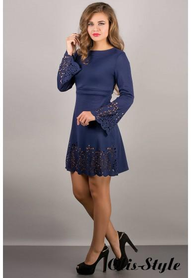 Платье Мальдива (синий) Оптовая цена