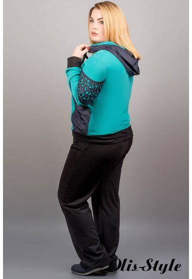 Спортивный костюм Даниэлла (бирюза)   оптовая цена
