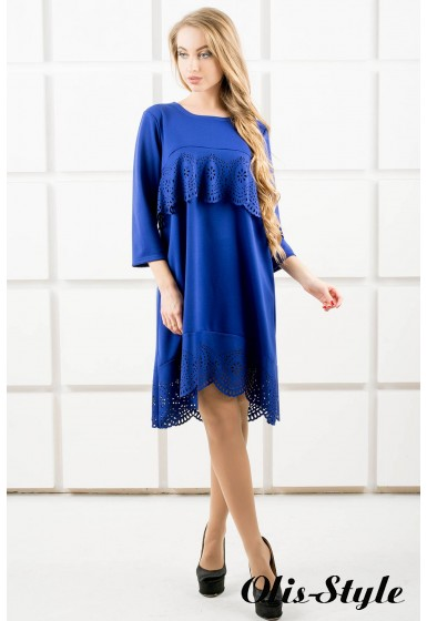 Платье Наир (электрик) Оптовая цена