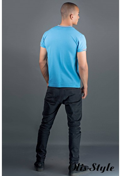 Мужская футболка Грэт (морская волна) оптовая цена