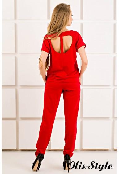 Спортивный костюм Канель (красный) Оптовая цена