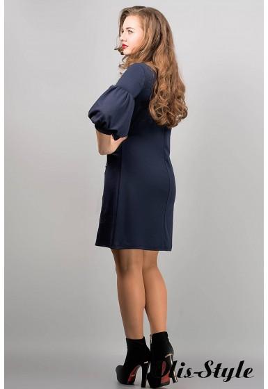 Платье Кармен (синий) оптовая цена
