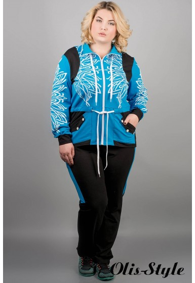 Спортивный костюм Марго (бирюза)   оптовая цена