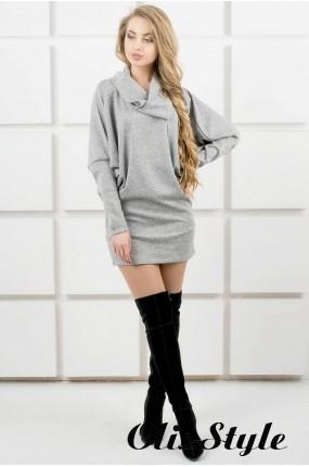 Платье-туника Шерли (серый) оптовая цена