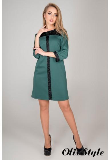 Платье Таура (зеленый) Оптовая цена