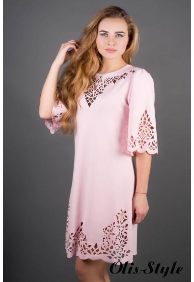Платье Валенсия (розовый) Оптовая Цена