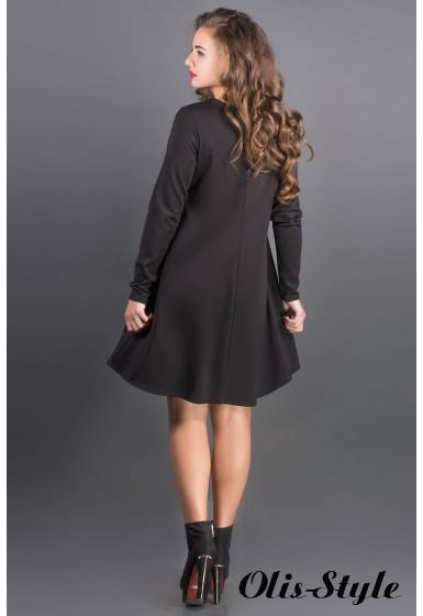 Платье Ситти (черный) Оптовая цена