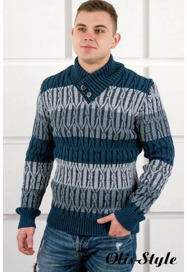 Мужской свитер Амадей шаль (синий) оптовая цена
