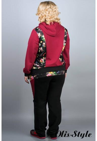 Спортивный костюм Глория (бордовый) оптовая цена