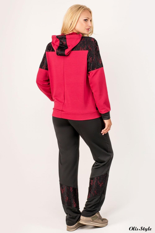 Спортивный костюм Сайла (бордовый) оптовая цена