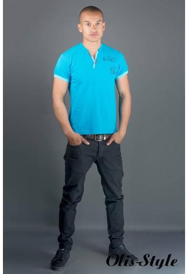 Мужская футболка Систем (бирюза) оптовая цена