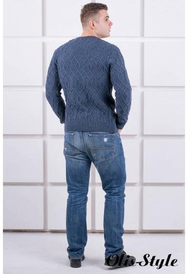 Мужской свитер Лаврентий (темно-серый) оптовая цена