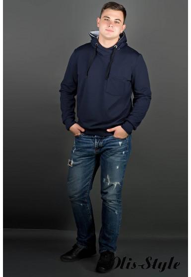 Мужская толстовка Рунэ (синий) оптовая цена