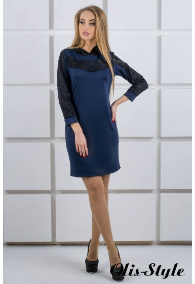 Платье Камита (синий) Оптовая цена