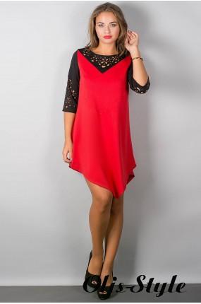Платье Эсмина (красный) Оптовая цена
