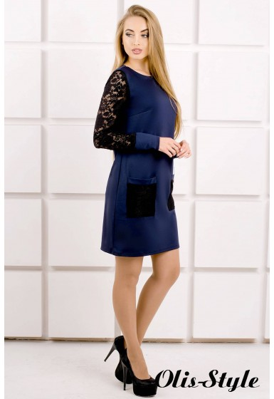 Платье Кэнди (синий) Оптовая цена