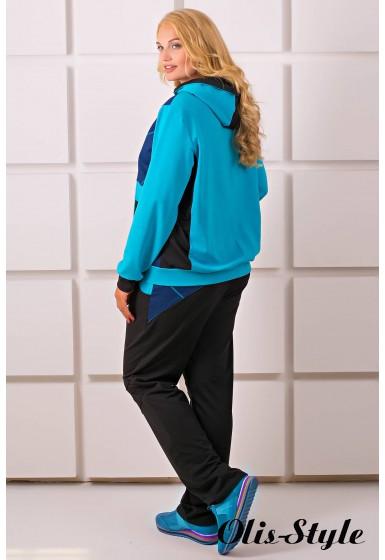 Спортивный костюм Лакри (бирюза)   оптовая цена