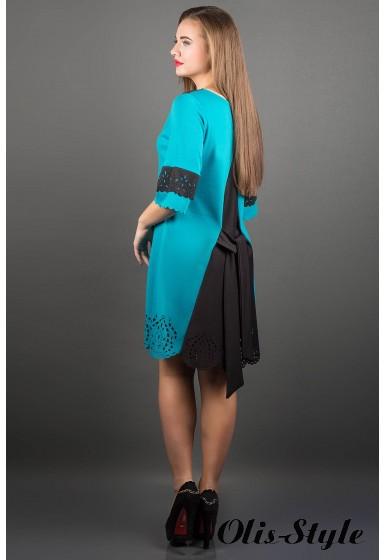 Платье Джаконда (бирюза) ОПТОВАЯ ЦЕНА