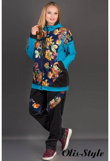 Спортивный костюм Дейла (бирюза) оптовая цена