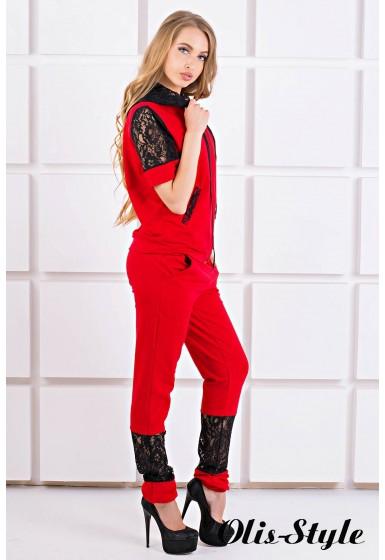 Спортивный костюм Рошаль (красный) Оптовая цена