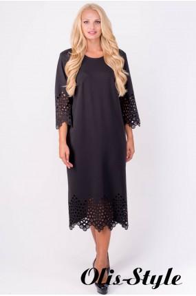 Платье Кайла (черный) Оптовая цена