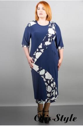 Платье Илиада (синий) Оптовая цена