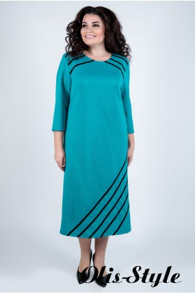 Платье Камелия (бирюза) Оптовая цена