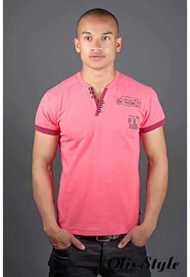 Мужская футболка Систем (бордовый) оптовая цена