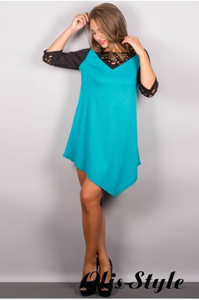 Платье Эсмина (бирюза) Оптовая цена