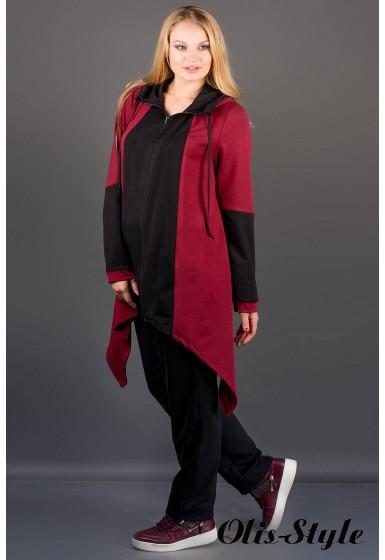 Спортивный костюм Бионика (бордовый)   оптовая цена